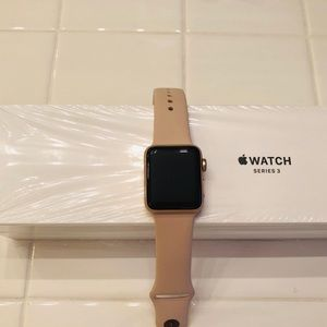 Apple Watch Series 3, rose gold, 38mm